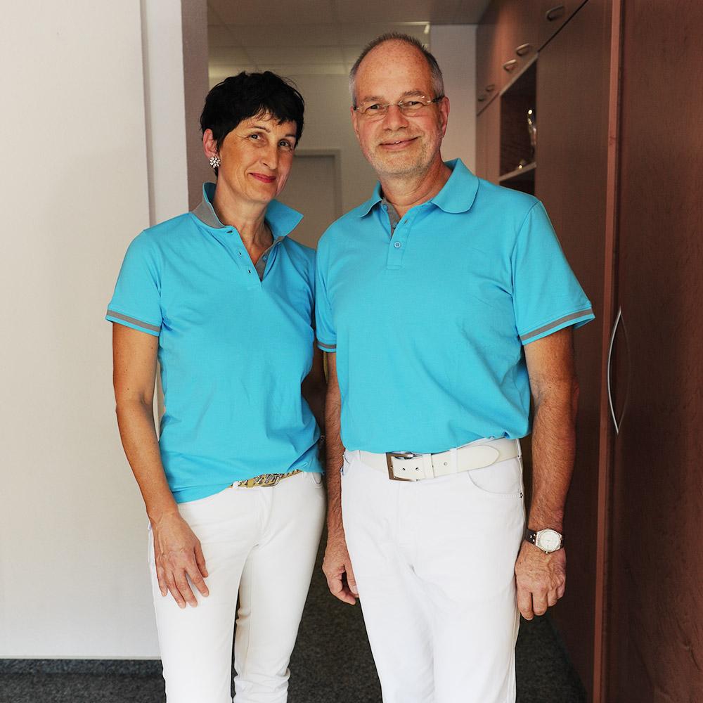 Dr. med. Brigitte Kessel-Hütt und Dr. med. Thomas Hütt